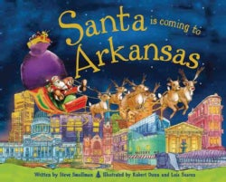 Santa Is Coming to Arkansas (Hardcover)