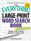 The Everything Word Search Book (Paperback)