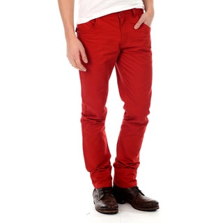 191 Unlimited Men&#39;s Red Straight Leg Pants