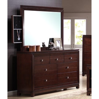 Lorrand 8-drawer Dresser with Optional Mirror