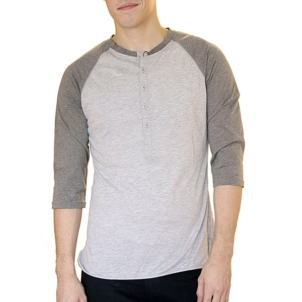 Something Strong Men's Slim Fit Raglan Baseball T-shirt