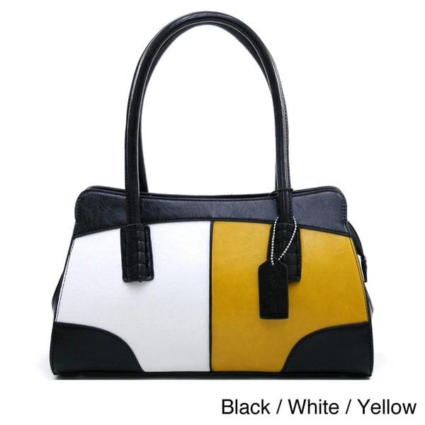 Dasein Retro Colorblock Shoulder Bag