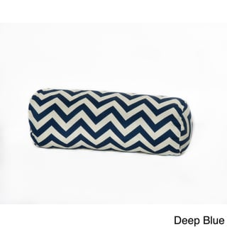 Chevron Outdoor Bolster Pillow