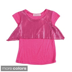 Paulinie Collection Girls Sequin Top