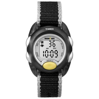 Timex Kids' 'IronKids' Translucent Black Watch