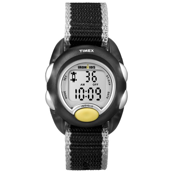 Timex T7B9819J Kids' 'Iron Translucent Black Watch