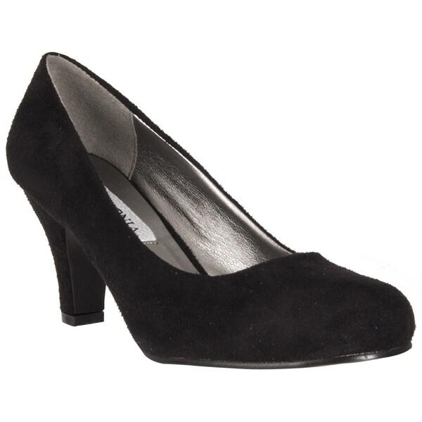Riverberry Women's Black Mid-heel Pumps