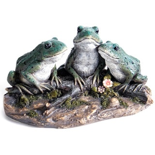 Kelkay Frogs on a Log Decorative Accent
