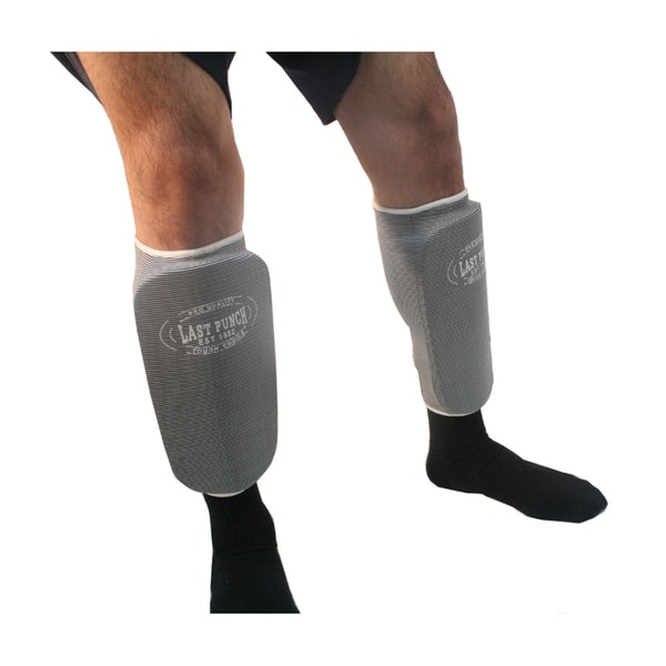 MMA Grey Professional Martial Arts Shin Pads