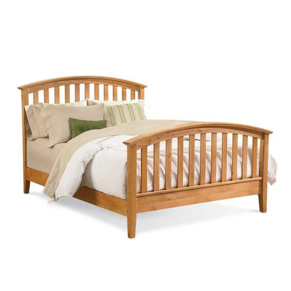 Mastercraft Collections Urban Homemaker Natural Slat Bed Solid Wood