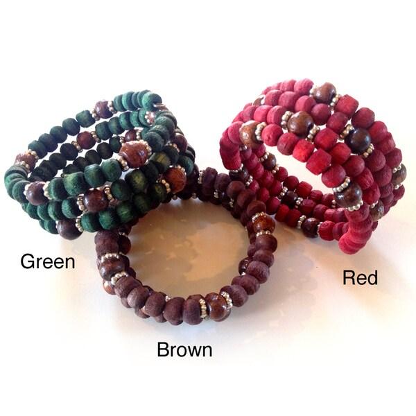 'Heartthrob' Beaded Bracelet (India)
