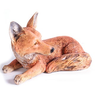 Kelkay Laying Fox Decorative Accent