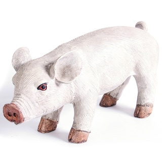 Kelkay Standing Piglet Decorative Accent