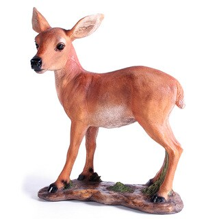 Kelkay Standing Fawn Decorative Accent