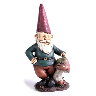 Relaxing Gnome Mushroom Solar Light - 12915154 - Overstock Shopping - Great Deals on OEM Solar ...
