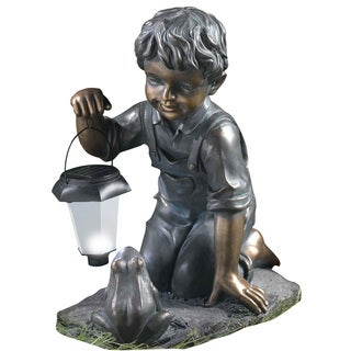 Kelkay Solar Lantern Boy and Frog