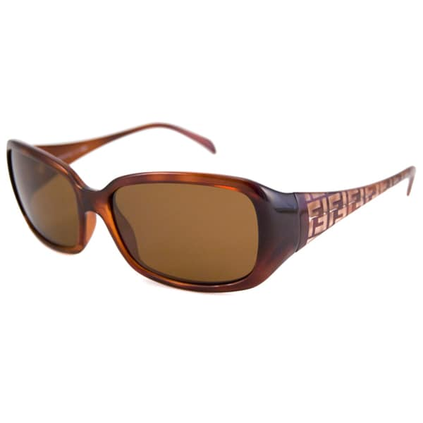 Fendi Women's FS5271 Polarized/ Rectangular Sunglasses