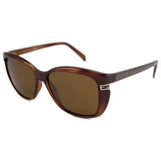 Fendi Women's FS5272 Polarized/ Rectangular Sunglasses