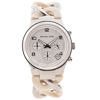 Michael Kors Women's MK4263 'Runway' Twist Chronograph Watch