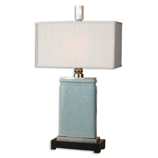 Uttermost Azure Light Blue Table Lamp