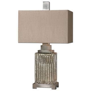 Canino Mercury Glass Table Lamp