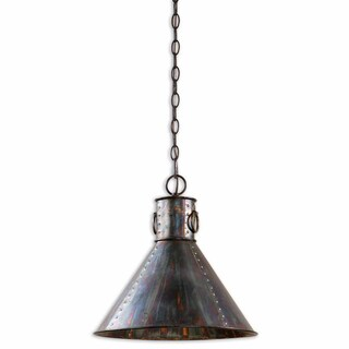 Levone 1-light Oxidized Bronze Pendant
