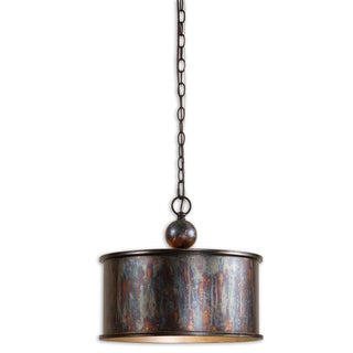 Uttermost Albiano 1-light Oxidized Bronze Pendant