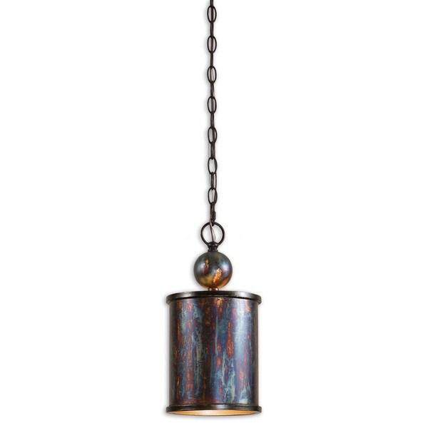 Uttermost Albiano 1-light Oxidized Bronze Mini Pendant