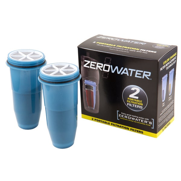 Filters Travel Bottle (Pack of 2)