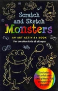 Monsters Scratch & Sketch: An Art Activity Book: for Creative Kids of All Ages (Hardcover)