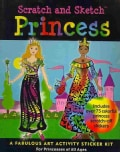 Princess Scratch and Sketch Sticker Kit (Paperback)
