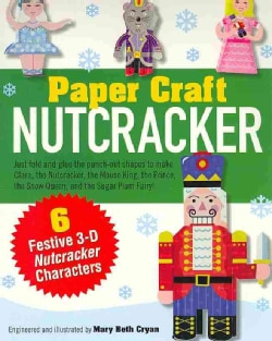 Nutcracker Paper Craft Kit (Hardcover)