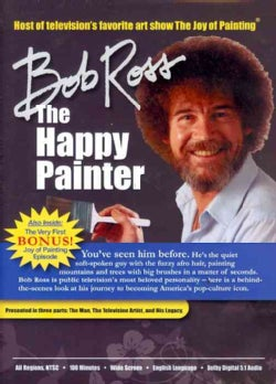 Bob Ross: The Happy Painter (DVD)