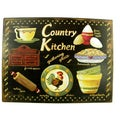 Vintage Style Country Kitchen Metal Sign