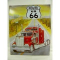 Vintage Style 'Route US 66' Metal Sign