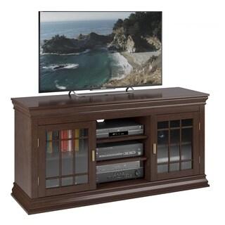 Sonax Carson Dark Espresso 60-inch Wood Veneer TV/ Component Bench