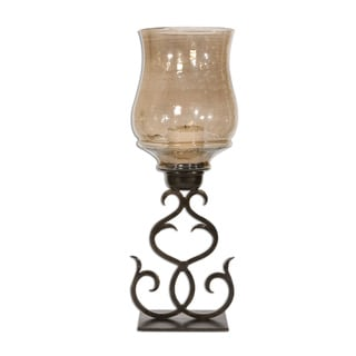 Uttermost Sorel Antiqued Bronze Metal Candleholder