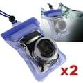 BasAcc Blue Waterproof Camera Case
