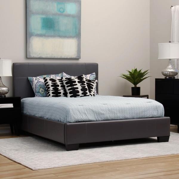 Loft One Dark Grey Queen-size Bed