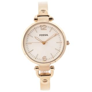 Fossil Women's ES3084 'Georgia' Goldtone Watch