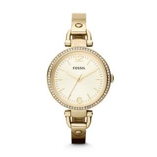Fossil Women's ES3227 Georgia Goldtone Watch