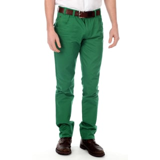 191 Unlimited Men&#39;s Green Straight Leg Pants