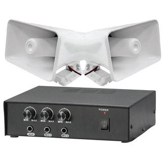 Pyle 50W PA Amplifier/ Pair 8