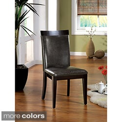 Brennan Two-Tone Contemporary Dining Chairs (Set of 2)