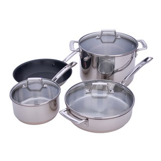 Miu Stainless Steel 7-piece Cookware Set