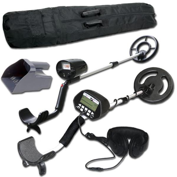 Treasure Cove Father and Son Metal Detector Set with Arm Rest