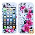 MYBAT White Morning Petunias Case for Apple iPhone 5