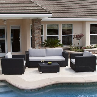 Christopher Knight Home San Felipe Outdoor 4-piece Seating Set