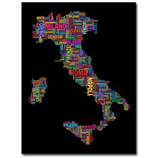 Michael Tompsett 'Italy VI' Canvas Art