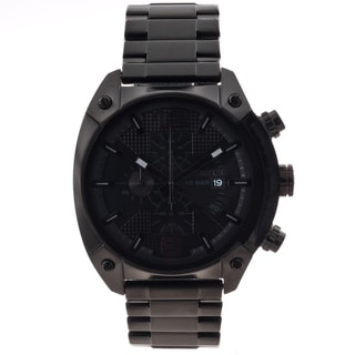 Diesel Men's Black Stainless Steel Chronograph Watch